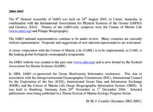 2003-2005 Report